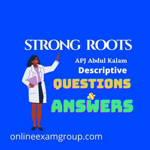 Strong Roots questions & Answers