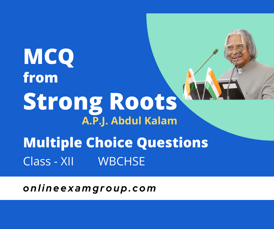 Strong Roots MCQ