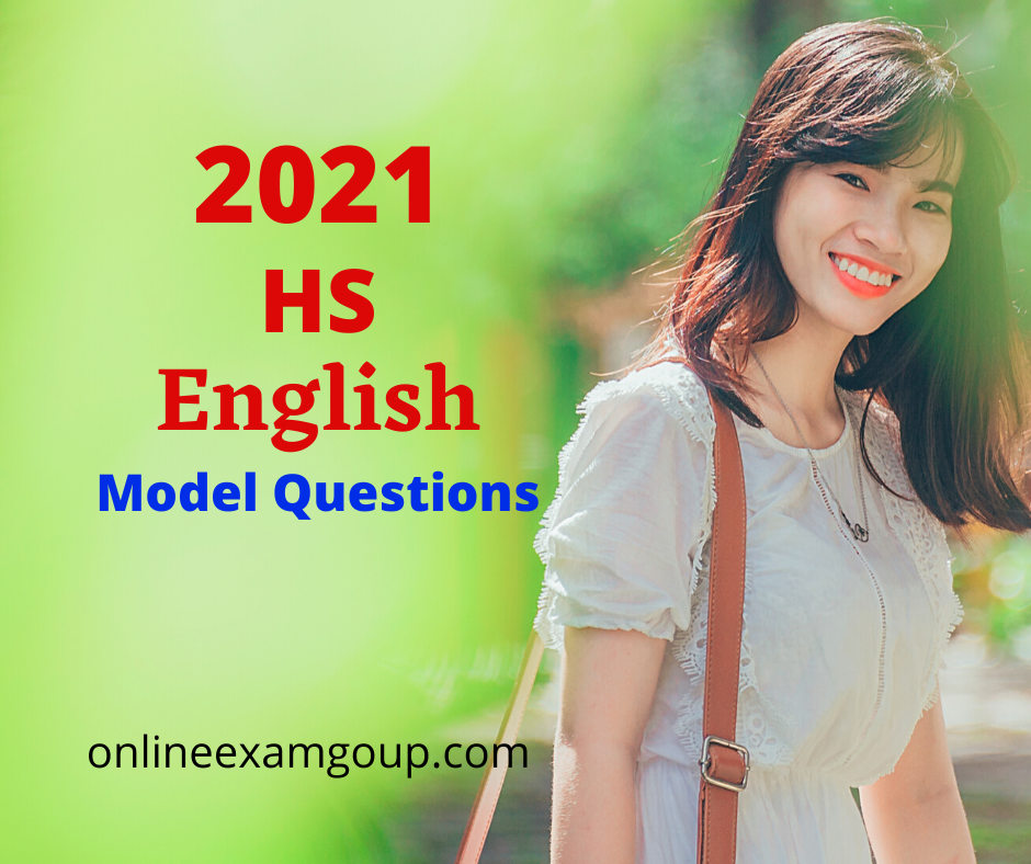 HS English Model Questions