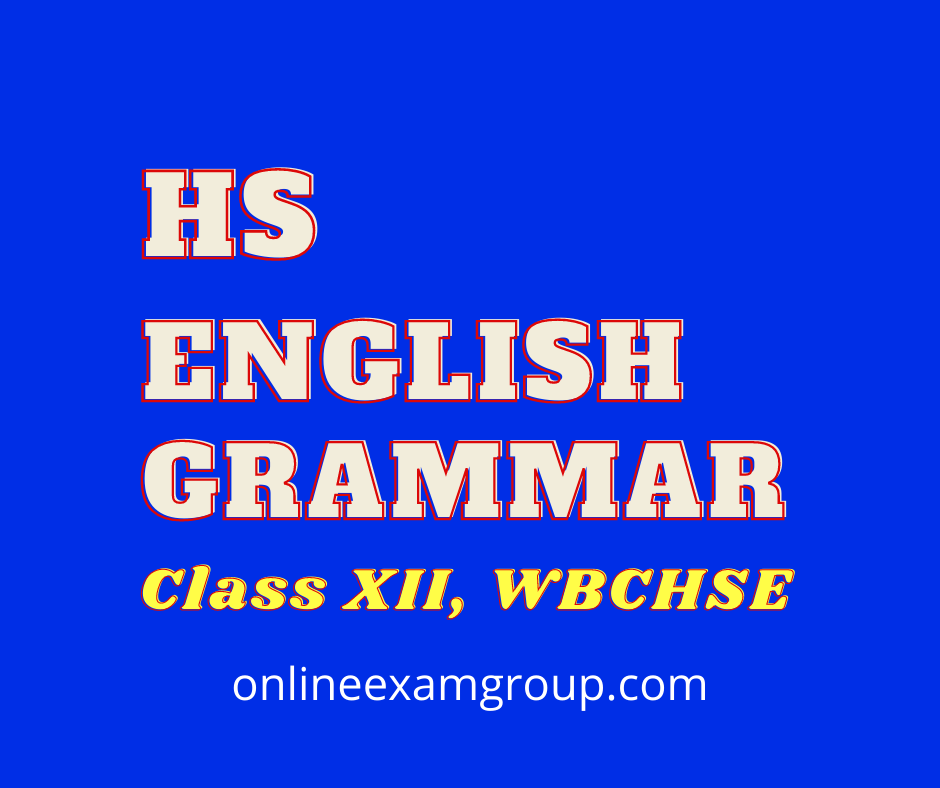 hs english grammar for Final Exam