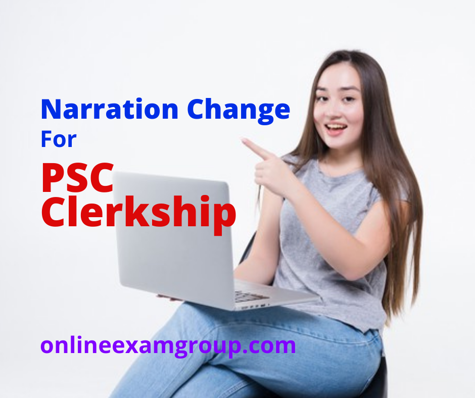 Narration Change for PSC-Clerkship