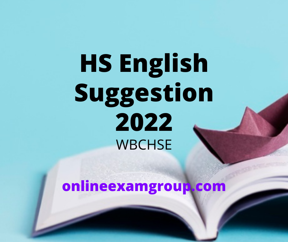 2022 HS English Suggestion